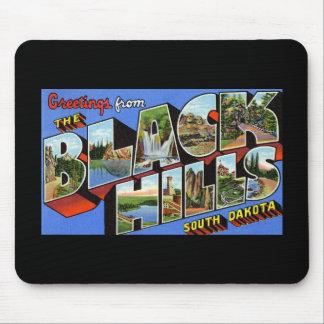 Saludos del Black Hills Dakota del Sur Tapetes De Ratón