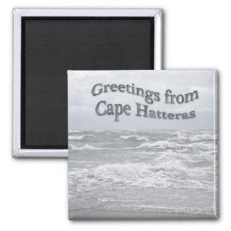 Saludos del cabo Hatteras Imán De Frigorifico