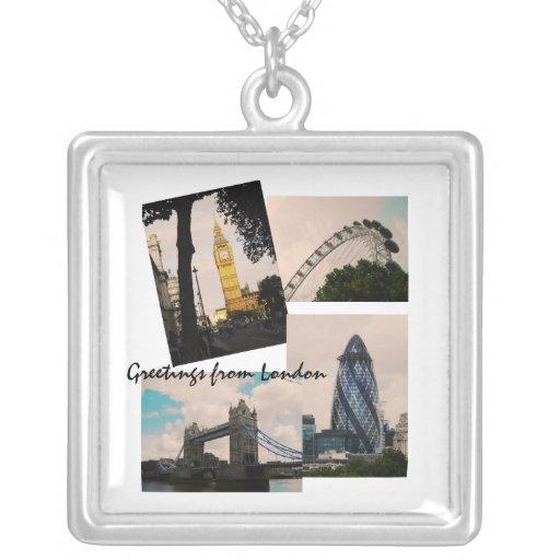 Saludos del collar de Londres