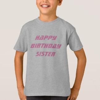 Saludos del cumpleaños de la hermana playera