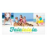 Saludos del día de fiesta de la foto del navidad d tarjetas con fotos personalizadas