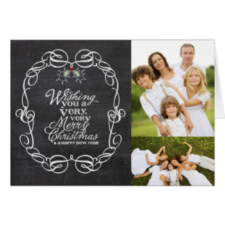 Saludos del día de fiesta del navidad de los muérd tarjetas