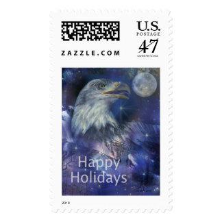 Saludos del día de fiesta - los saludos de la timbre postal
