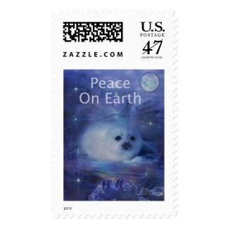 Saludos del día de fiesta - los saludos de la timbres postales