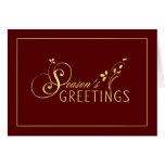 Saludos del día de fiesta - tarjetas de felicitaci