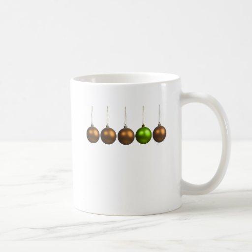 saludos del día de fiesta taza de café