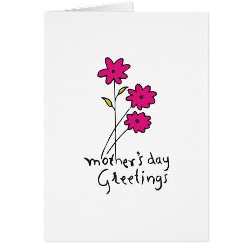 Saludos del día de madre felicitacion