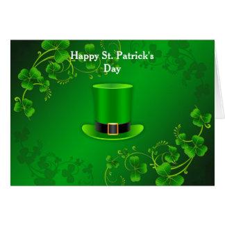 Saludos del día de St Patrick feliz Tarjeta De Felicitación