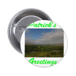 Saludos del día de St Patrick Pins