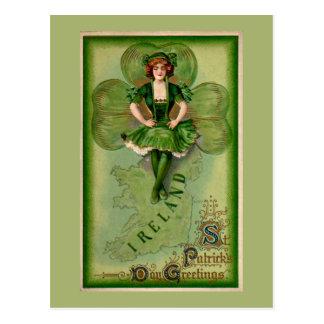 Saludos del día del St Patricks Postal