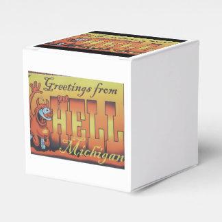 Saludos del infierno, caja 1 de Michigan Cajas Para Regalos