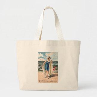 Saludos del lado de mar - postal #2 del vintage bolsa