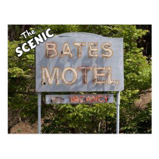 Saludos del motel escénico de Bates Postales