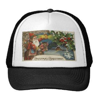 Saludos del navidad gorras