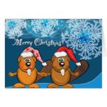 Saludos del navidad tarjetas