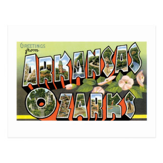 ¡Saludos del Ozarks! Postal