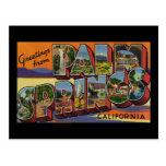 Saludos del Palm Springs California Postales