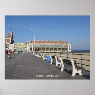 Saludos del parque de Asbury Posters