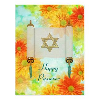 Saludos del Passover Tarjeta Postal
