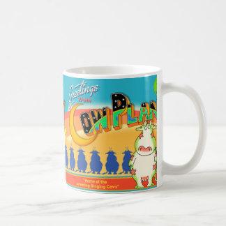 SALUDOS del PLANETA Boynton de la VACA Tazas De Café