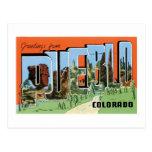 Saludos del pueblo, Colorado Postal