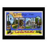Saludos del pueblo Colorado Postales