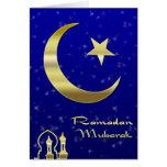 Saludos del Ramadán Tarjetas