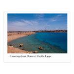 Saludos del Sharm el Sheikh, Egipto Postales