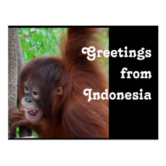Saludos del viaje de Indonesia Postal
