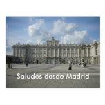 Saludos desde Madrid Postcard