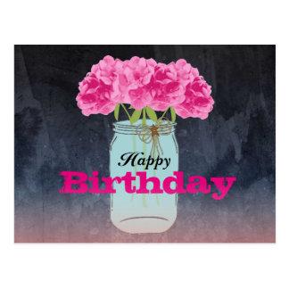 Saludos encantadores del cumpleaños de la postal