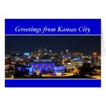 Saludos, estación de la unión de Kansas City Tarjeta De Felicitación