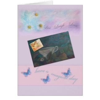 Saludos exquisitos del ejemplo del día de madre tarjeta de felicitación