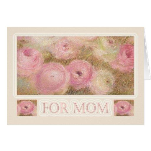 Saludos exquisitos del ejemplo del día de madre tarjeta