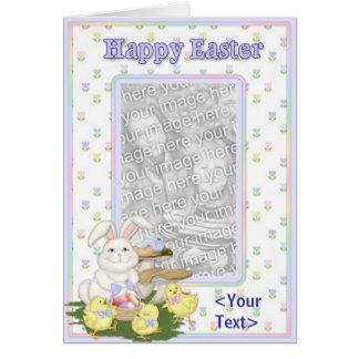 Saludos felices de Pascua Tarjetón