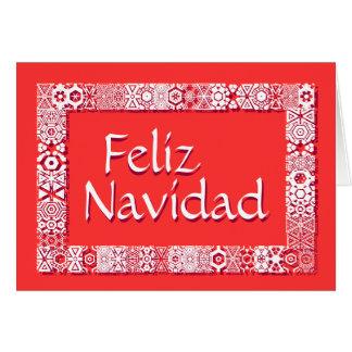 Saludos Feliz Tarjeta De Navidad Card