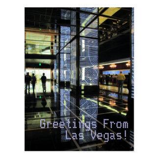 ¡Saludos FromLas Vegas! Tarjeta Postal