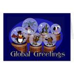 Saludos globales felicitaciones