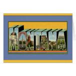 Saludos grandes de la letra de Montana Tarjeton