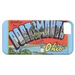 Saludos grandes de la letra de Portsmouth Ohio iPhone 5 Protectores