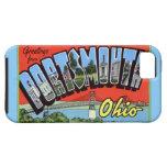 Saludos grandes de la letra de Portsmouth Ohio iPhone 5 Protector