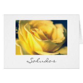 Saludos Greeting Card