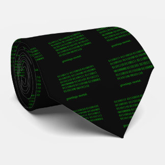 Saludos mortales corbata personalizada