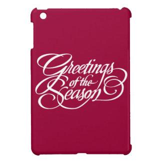 Saludos para la estación - blanco iPad mini fundas