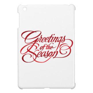 Saludos para la estación - rojo iPad mini fundas