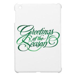 Saludos para la estación - verde iPad mini protectores