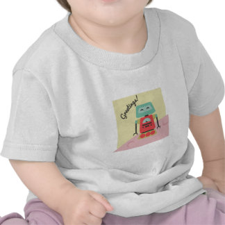 ¡Saludos! Camisetas