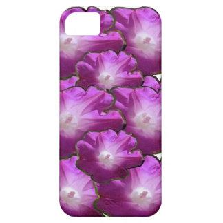 Saludos rosados blancos del regalo del ramo de la iPhone 5 funda