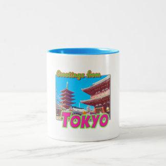 Saludos taza de Tokio