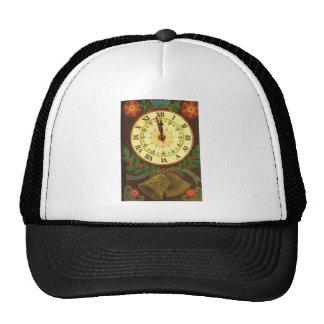 Saludos tradicionales del navidad del vintage gorras